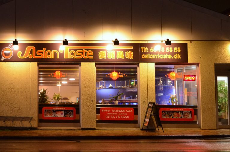 restaurant Asian Taste facade